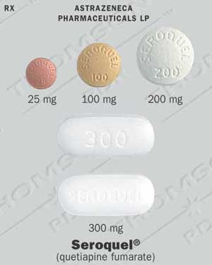 Quetiapine 25mg Side Effects